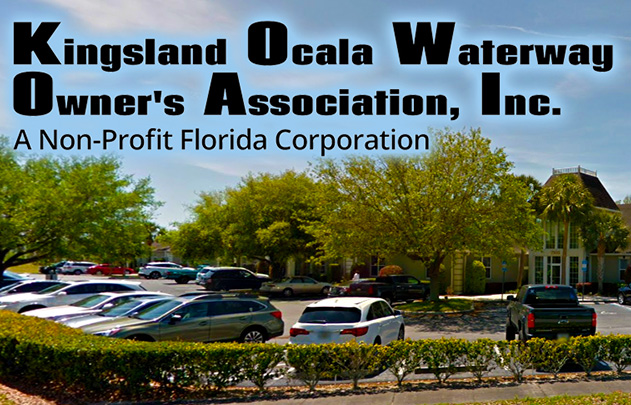 Kingsland Ocala Waterway Home Owners Association, Inc.